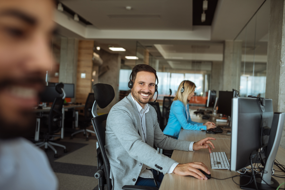 IT Specialist smiling